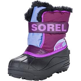 Sorel Kids Snow Commander Boots Purple Dahlia/Paisley Purple